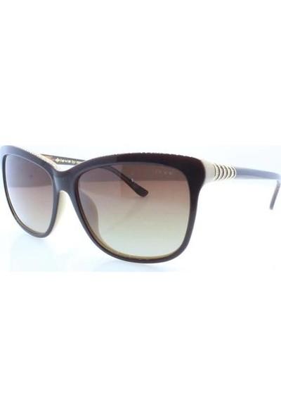 İsve 103 C2 Swarovski Taşlı Polarize Kadın Güneş Gözlüğü