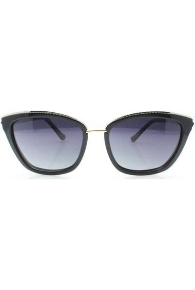 İsve 119 C1 Swarovski Taşlı Polarize Kadın Güneş Gözlüğü