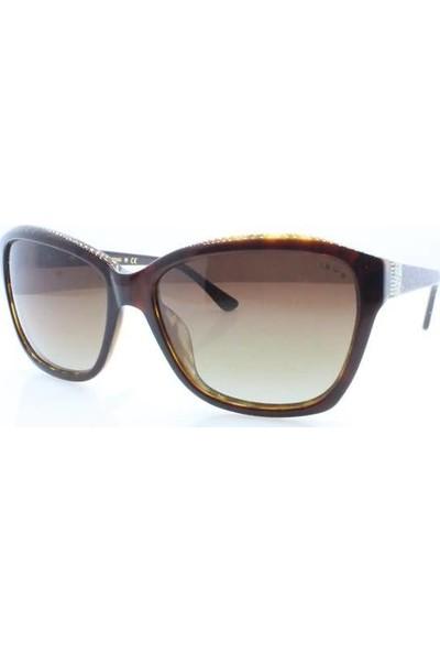 İsve 115 C1 Swarovski Taşlı Polarize Kadın Güneş Gözlüğü