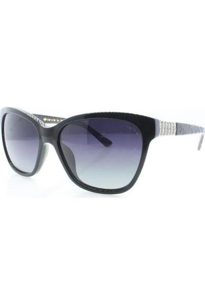 İsve 111 C2 Swarovski Taşlı Polarize Kadın Güneş Gözlüğü