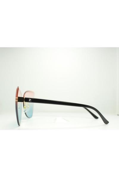 Polo Cayenne 9005 C3 Elmas Kesim Çerçevesiz Kadın Güneş Gözlüğü