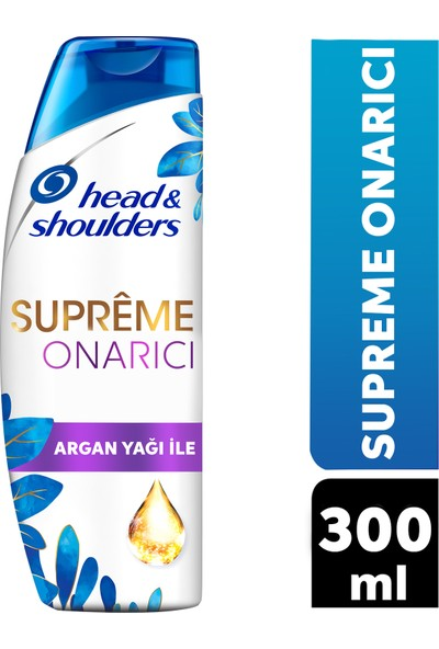 Head Shoulders Supreme Onarıcı Argan Yağlı Şampuan 300 ml