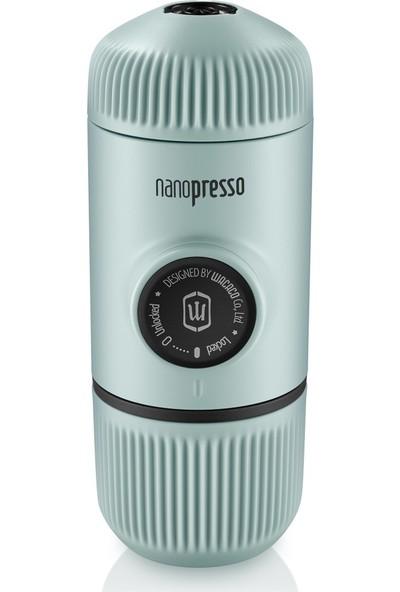 Wacaco Nanopresso Manuel Espresso Makinesi Buz Mavisi