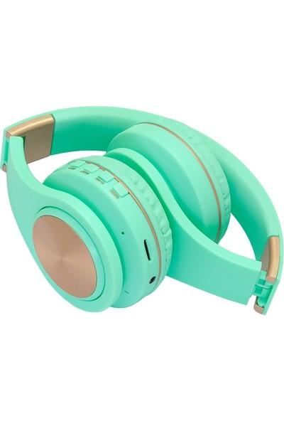 Frisby FHP-842BT Bluetooth Kulaküstü Kulaklık Mavi