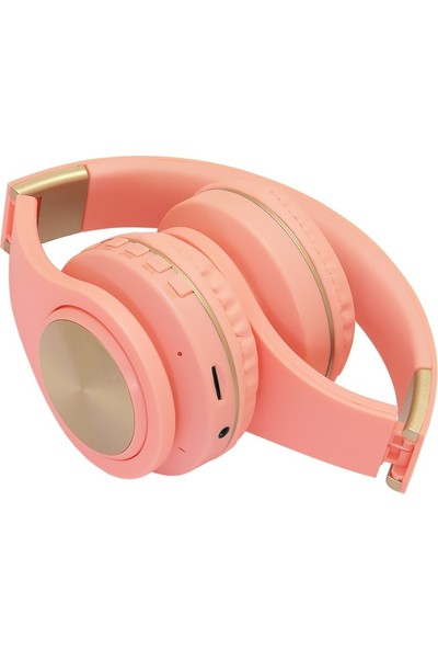 Frisby FHP-850BT Bluetooth Kulaküstü Kulaklık Pembe