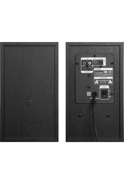 Frisby FS-2010BT 40Rms 2.0 Aktif Hoparlör (Optik/BT/USB/TF)