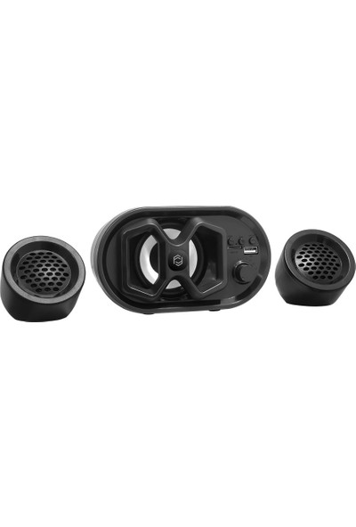 Frisby FS-2422U BT/TF/USB/AUX 2.1 Multimedya Bluetooth Speaker
