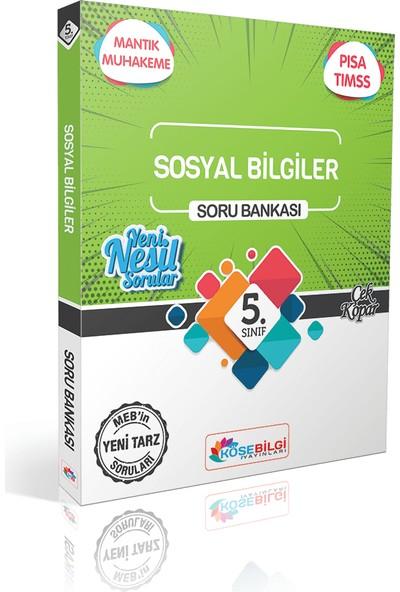 Köşe Bilgi Yayınları 5. Sınıf Özet Bilgili Sosyal Bilgiler Soru Bankası