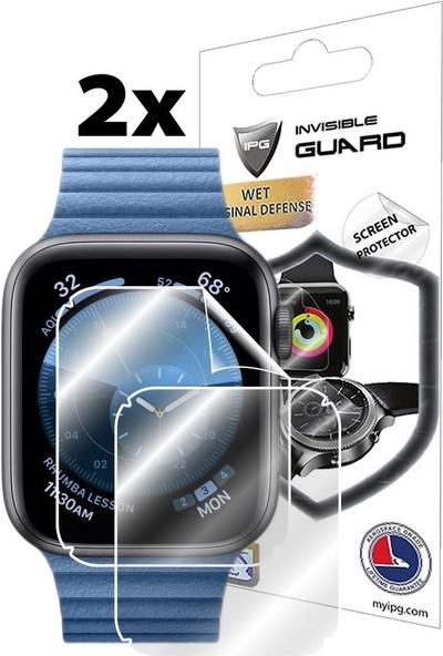 IPG Apple Watch Seri 5 44mm Ekran Koruyucu (2 Adet)