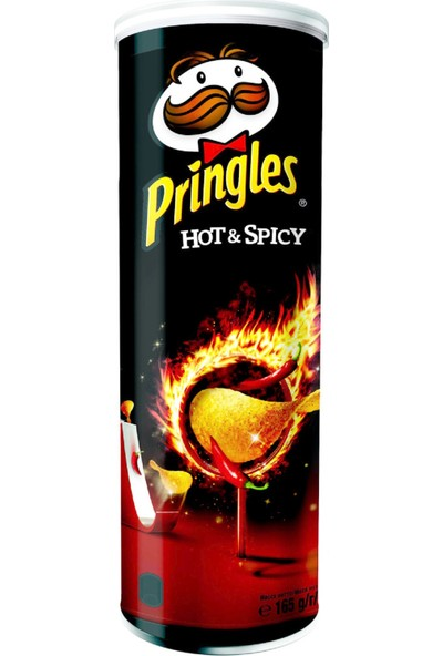 Pringles Hot & Spicy 165 gr 2'li