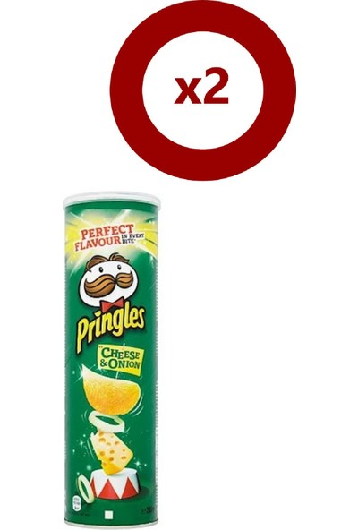 Pringles Peynir&soğan 165 gr 2'li