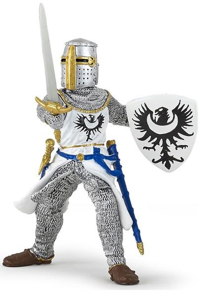 Papo Beyaz Kılıçlı Şövalye Figürü 39946