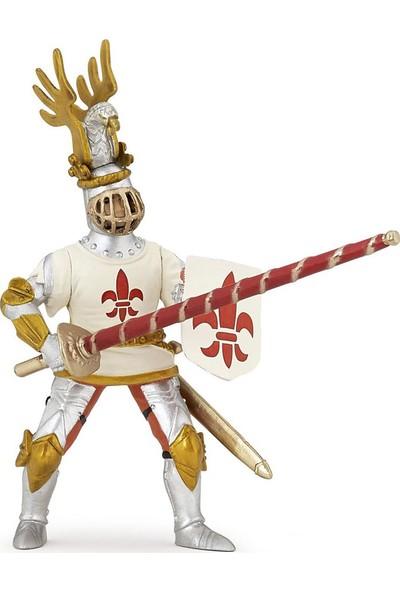 Papo Beyaz Lys Şövalye Figürü 39790
