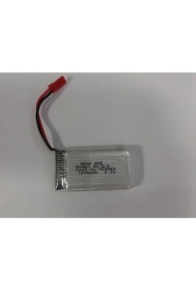 Gens Ace Drone Lityum Polimer Pil 3.7V 1400 Mah