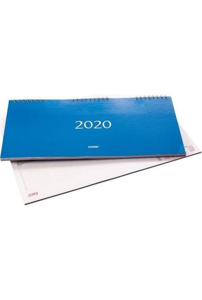 Bayındır 2020 15.5X32.5 Haftalık Spiralli Masa Ajandası BAJ0200