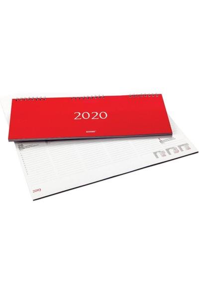 Bayındır 2020 12X32.5 Haftalık Spiralli Masa Ajandası BAJ0210