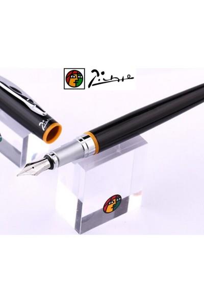 Picasso 907 Siyah - Turuncu Roller Kalem