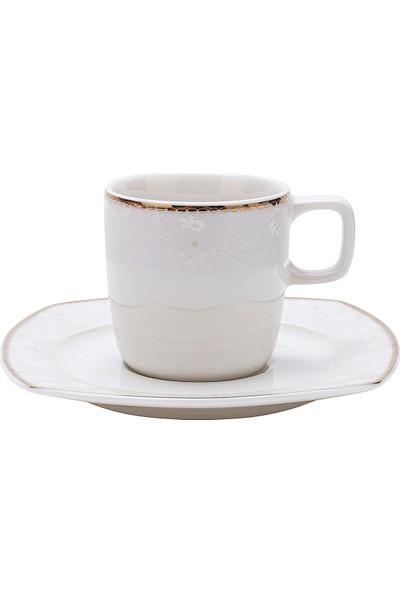Karaca Esther 6 Kişilik Kahve Fincan Takımı