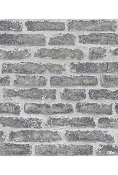 Zümrüt Esmeralda 5647 Taş Tuğla Desen Duvar Kağıdı 5.33 m²