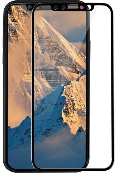 Kılıfist Apple iPhone X/XS 5D Full Ekran Koruyucu Komple 9H Temperli Cam Siyah