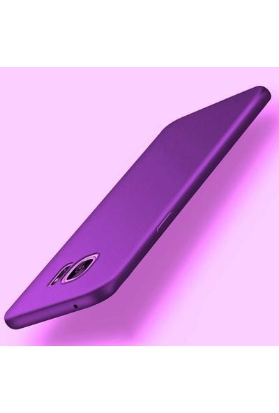 Kılıfist Samsung Galaxy Note Fan Edition FE Kılıf Mat Silikon Kılıf Kapak Mor