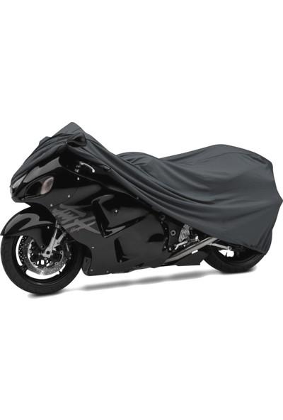 Motoen Kymco Venox 250 Motosiklet Brandası (Bağlantı Tokalı)- Siyah