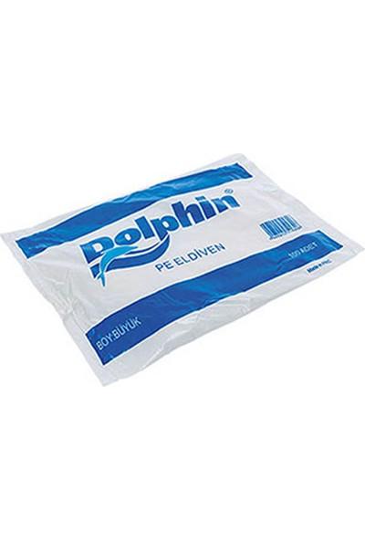 Kullan At Market Dolphin Şeffaf Eldiven Pe L 100'lü Paket