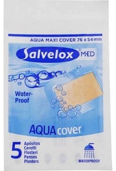 Salvelox Med Aqua Cover XXL - Suya Dayanıklı Büyük Yara Bandı 5 Adet 97 x 79 mm