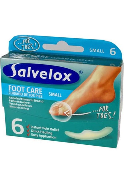 Salvelox Foot Care Small - Küçük Boy Yara Bandı 6 Adet