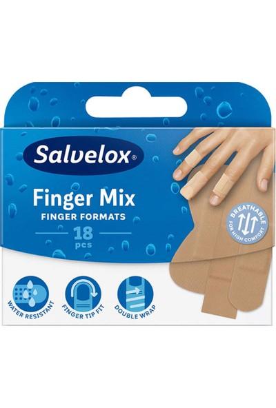 Salvelox Finger Mix - Parmaklar Için Yara Bandı 18 Adet