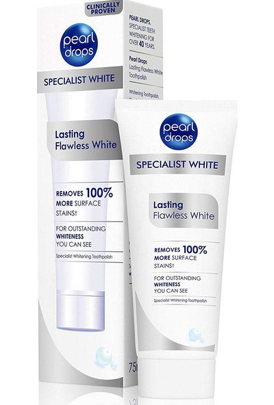 Pearl Drops Lasting Flawless White Diş Macunu 75 ml