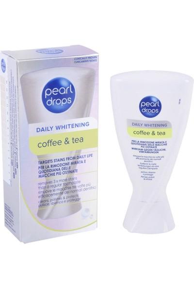 Pearl Drops Daily Whitening Coffe & Tea - Beyazlatıcı Diş Macunu 50 ml