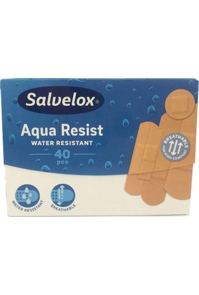 Salvelox Aqua Resist Suya Dayanıklı Yara Bandı 40 Adet