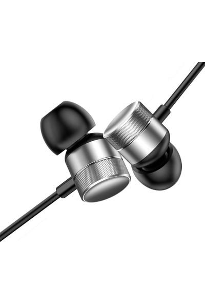 Baseus ENCOK H04 Kablolu Kulakiçi Kulaklık - Gümüş