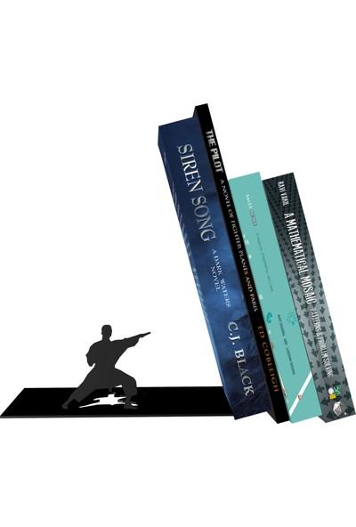 Bsign Kitaplık, Masa Veya Raf Için Dekoratif Karete Figürlü Kitaplık, Kitap Tutacağı