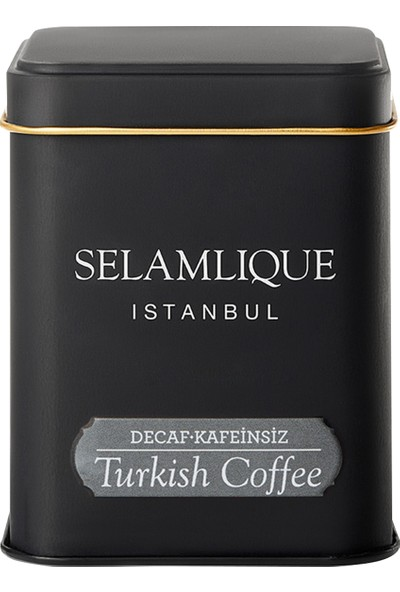 Selamlıque Kafeinsiz Türk Kahvesi 125 gr