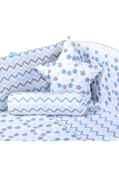 Funna Baby Uyku Seti - Stella Mavi - 80 x 130 - KOD:9625