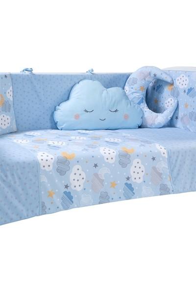Funna Baby Uyku Seti - Mois Mavi - 60x120 - KOD:9602