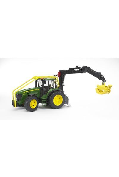 Bruder John Deere 7930 Tomruk Taşıyan Traktör BR03053