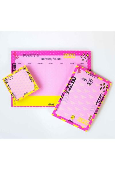 Juno Paper Masaüstü Planlayıcı 10 x 10 Bloknot / Party