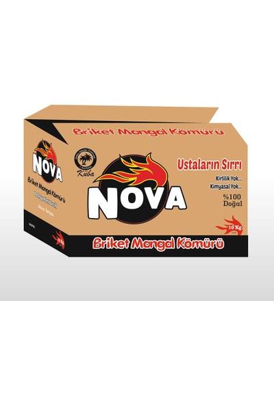 Nova Briket Mangal Kömürü 10 kg