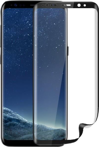 Monsterskin Samsung Galaxy S8 Full Kaplama Ekran Koruyucu Tam Koruma - Şeffaf