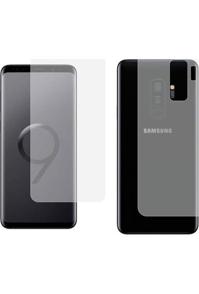 Monsterskin Samsung Galaxy S9 Plus Ön Arka Darbeye Dayanıklı Tam Koruma Ekran Koruyucu - Şeffaf