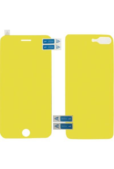 Monsterskin Apple iPhone 8 Plus Ön Arka Darbeye Dayanıklı Tam Koruma Ekran Koruyucu - Şeffaf