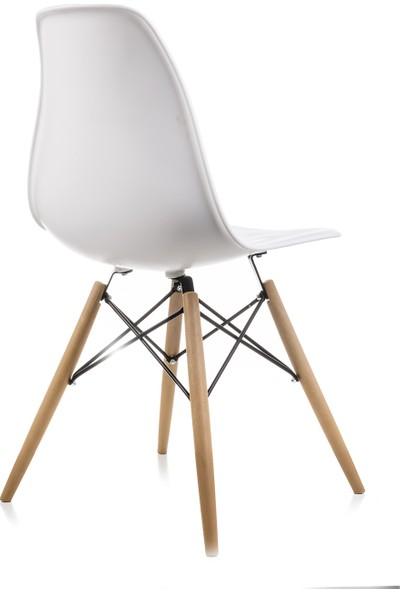 Dorcia Home Beyaz Eames Sandalye