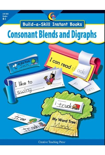 Consonant Blends & Digraphs, Build-A-Skill Instant