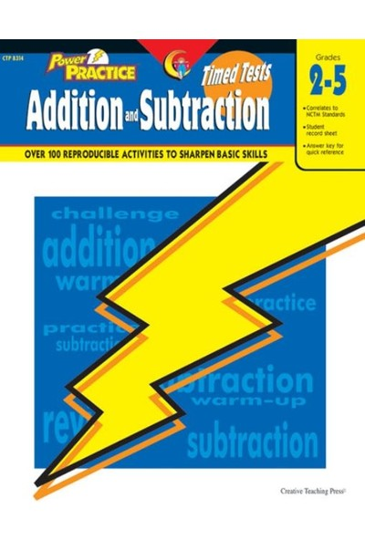 Timed Tests Addition / Subtraction Power Practice