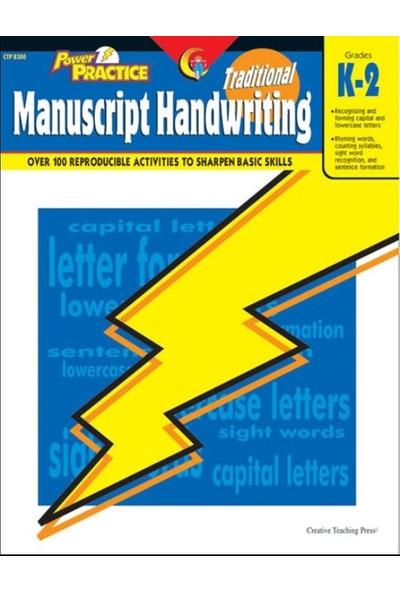Traditional Manuscript Handwriting Power Practice