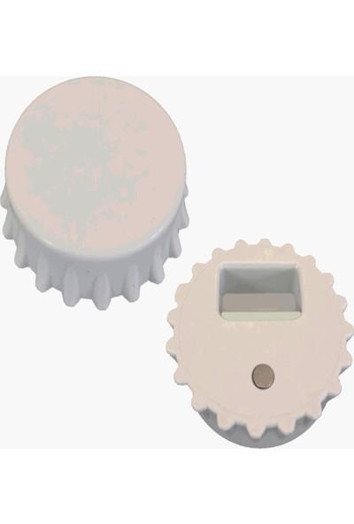 4 Renk 50 Adet Kişiye Özel Kapak Şeklinde 77 mm Çapında Magnetli Açacak ''nişanlanıyoruz'' Hediyeliği