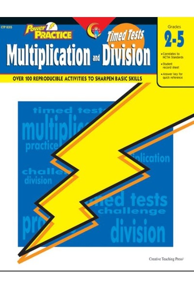 Timed Tests Multiplication / Division Power Practice